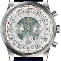 Breitling Transocean Chronograph Unitime AB0510U0-A732-102X new
