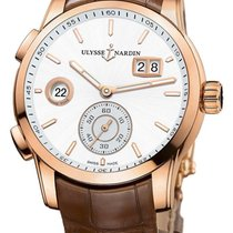Ulysse Nardin Dual Time Rose gold 42mm Silver United States of America, California, Moorpark
