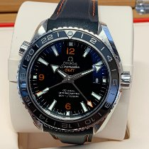 Omega Seamaster Planet Ocean Steel 43.5mm Black Arabic numerals United Kingdom, Wilmslow