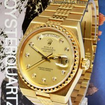 Rolex 19028 Oro amarillo 1985 Day-Date Oysterquartz 36mm usados