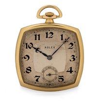 Rolex Gelbgold 40mm Silber Arabisch