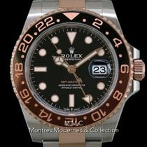 Rolex GMT-Master II Or/Acier 40mm Noir France, Paris