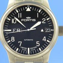 Fortis F-43 Acier 43mm Noir