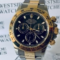 Rolex Daytona Gold/Stahl 40mm Schwarz Keine Ziffern Deutschland, Karlsruhe