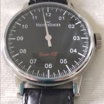 Meistersinger Scrypto new 2008 Manual winding Watch with original box and original papers AM6.02