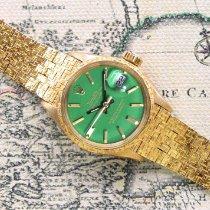 Rolex Lady-Datejust Yellow gold 26mm Green No numerals UAE, Dubai