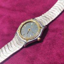 Ebel pre-owned Quartz 27mm Grey Mineral Glass