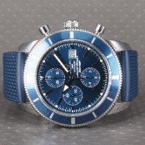 Breitling Superocean Héritage Chronograph Zeljezo 46mm Plav-modar