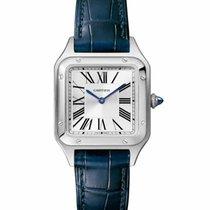 Cartier Santos Dumont nouveau Quartz Montre avec coffret d'origine et papiers d'origine WSSA0022