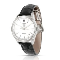 TAG Heuer Carrera Lady Staal 36mm Wit