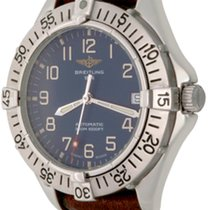 Breitling Colt Automatic Steel 38mm Blue Arabic numerals United States of America, Texas, Dallas