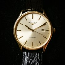 Longines Lyre Steel 38mm White No numerals