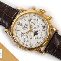 Zenith Yellow gold Automatic White 40mm pre-owned El Primero Chronograph
