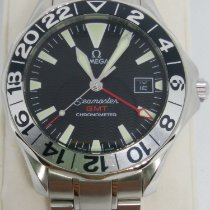 Omega Seamaster Steel 41mm Black No numerals