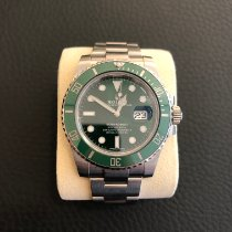 Rolex Submariner Date 116610LV 2017 pre-owned
