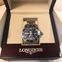 Longines HydroConquest Steel 44mm Blue Arabic numerals United States of America, Wisconsin, Madison