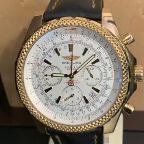 Breitling Bentley Motors Yellow gold 48mm White No numerals
