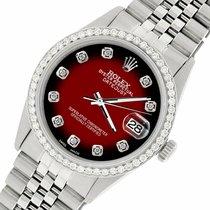 Rolex Datejust Acero 36mm Rojo