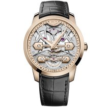 Girard Perregaux Bridges Or rose 45mm Transparent Sans chiffres