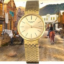 Patek Philippe pre-owned Manual winding 28mm Gold (solid)