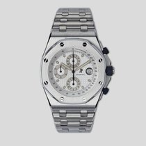 Audemars Piguet Royal Oak Offshore Chronograph Steel 42mm White United States of America, New York, New York