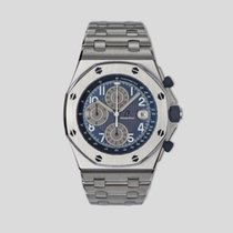 Audemars Piguet Royal Oak Offshore Chronograph Titanium 42mm Blue United States of America, New York, New York