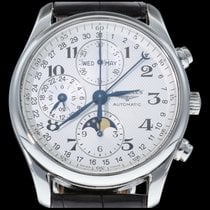 Longines Master Collection Staal 40mm Zilver Arabisch