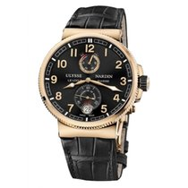 Ulysse Nardin Marine Chronometer Manufacture occasion 43mm Noir Cuir