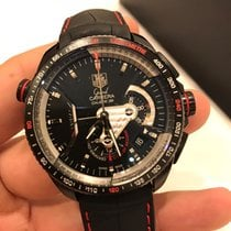 TAG Heuer Titanium Automatic Black 43mm new Grand Carrera