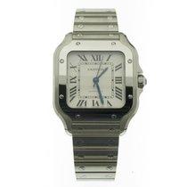 Cartier Santos (submodel) Stal 35mm Srebrny Rzymskie