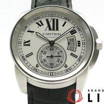 까르띠에 Calibre de Cartier 스틸 42mm 흰색