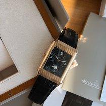Jaeger-LeCoultre Grande Reverso Duo Rose gold 48.5mm Silver Arabic numerals