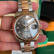 Rolex Datejust Gold/Steel 36mm Grey No numerals