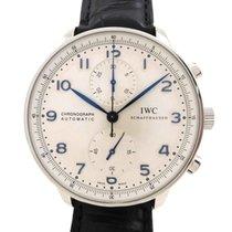 IWC Portugieser Chronograph gebraucht Leder