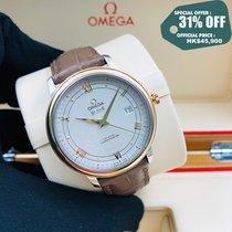 Omega 424.23.40.20.02.002 Acero y oro De Ville Prestige 39.5mm nuevo