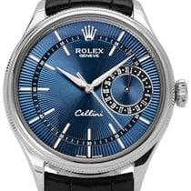 Rolex Cellini Date Bílé zlato 39mm