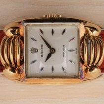 Rolex Жёлтое золото 18mm Механические Oyster Precision подержанные