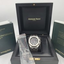 Audemars Piguet Royal Oak Offshore Chronograph Stahl 42mm Schwarz Arabisch Österreich, Scheffau