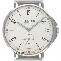 NOMOS Tangente Neomatik Staal 42mm Wit