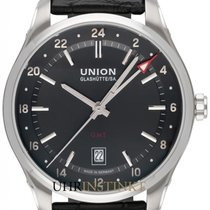 Union Glashütte Belisar GMT Steel 41mm Black