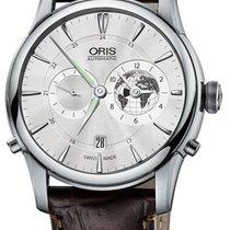 Oris Artelier Worldtimer Stahl 42mm Silber Deutschland, Schwabach