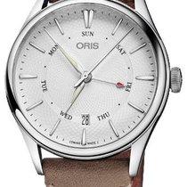 Oris 01 755 7742 4051-07 5 21 32FC Steel 2021 Artelier Pointer Day Date 40mm new