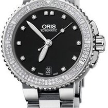 Oris Aquis Date Steel 36mm Black