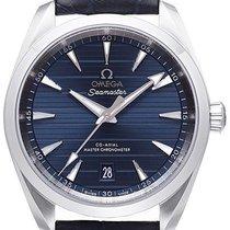 Omega Seamaster Aqua Terra Staal 38mm Blauw