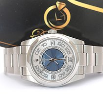 Rolex Oyster Perpetual 36 Steel 36mm Silver Arabic numerals