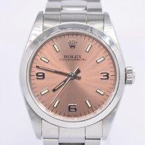 Rolex Oyster Perpetual 31 Steel 31mm Pink Arabic numerals United Kingdom, London Colney Hertfordshire