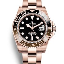 Rolex GMT-Master II Rose gold 40mm Black No numerals United States of America, New Jersey, Totowa