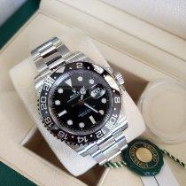 Rolex GMT-Master II Steel 40mm Black No numerals United States of America, New Jersey, Totowa