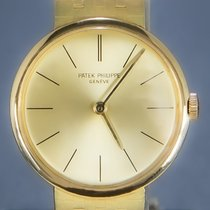 Patek Philippe Yellow gold 28mm Manual winding 3442 pre-owned