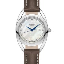 Longines Equestrian Steel 26mm Mother of pearl No numerals United States of America, New York, New York